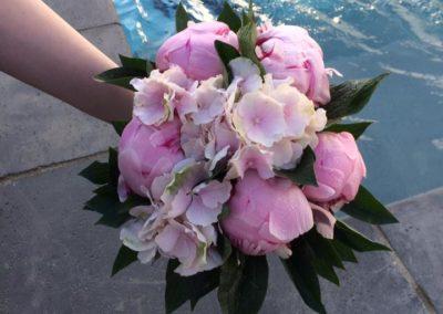 Bouquet de marié structuré