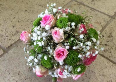 Bouquet de marié champêtre 2