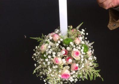 Bouquet de marié boule suspendue