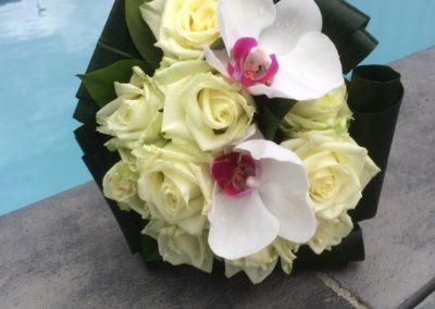 Bouquet de marié rond 5