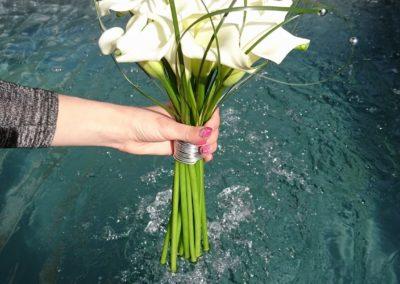 Bouquet de marié fagot