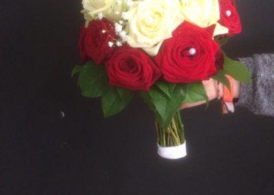 Bouquet de marié rond 3