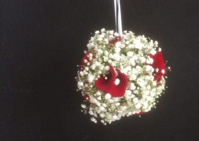 Bouquet de marié suspendu 2