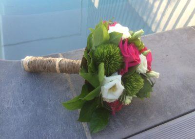 Bouquet de marié rond 4
