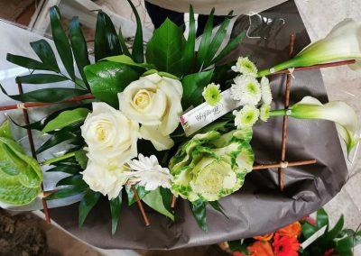 Bouquet structuré 14