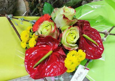 Bouquet structuré 9