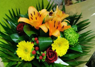 Bouquet rond 19