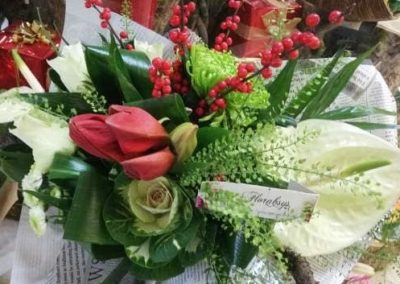 Bouquet rond 17