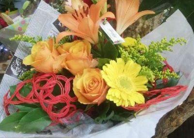 Bouquet structuré 18