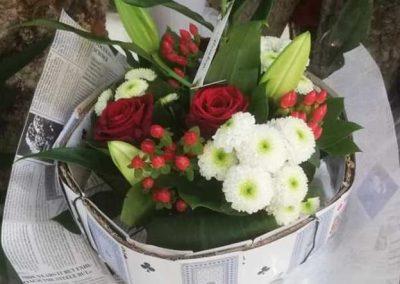 Bouquet structuré 2