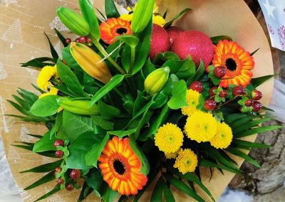 Bouquet rond 10