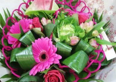 Bouquet structuré 17