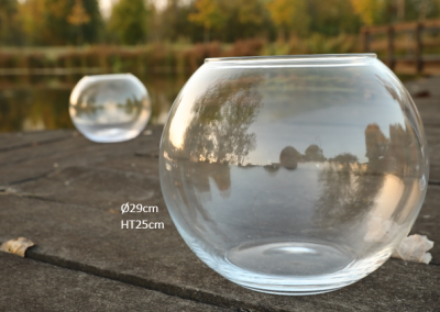 Vases boules