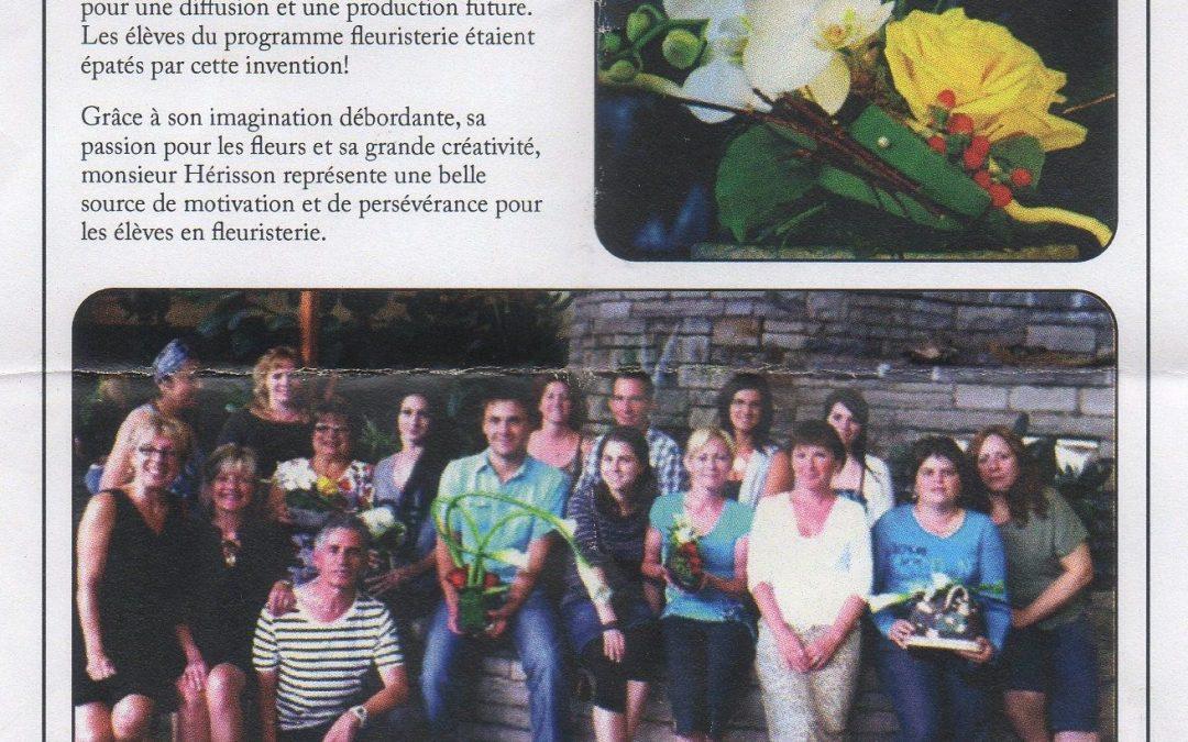 Un échange culturel fructueux en fleuristerie