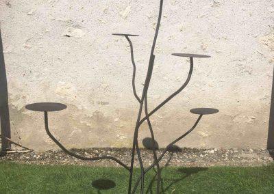 arbre métallique